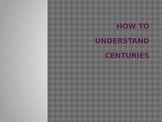 Centuries Mini-Lesson: How to Understand Centuries  (PPT)