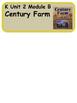 ReadyGen Century Farm Vocabulary / Kindergarten / Unit 2,