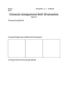 Ceramic Assignment bundle