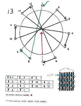 Ceramic Circle Weaving