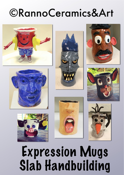 Ceramic Clay Expression Mugs