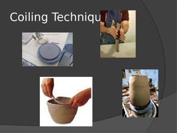 Ceramic Greek Coil Vase Power Point