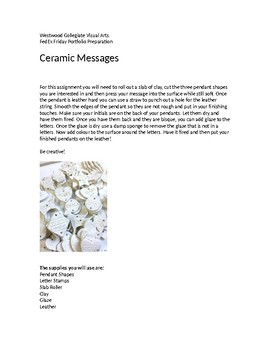 Ceramic Messages