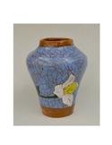 Birth Flower Ceramic Mosaic Inspired Coil Vase/Tiki Torch Project