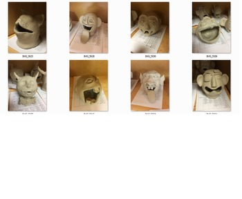 Ceramic Personality Busts