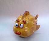 Ceramic Pinch Pot & Coil Method Fish an Intro to Working w
