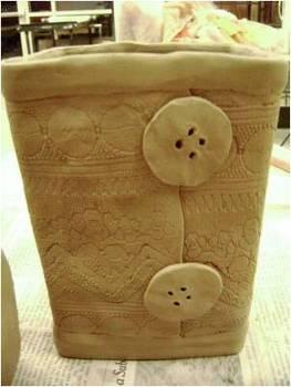 Ceramic Pottery-Slab Consturction