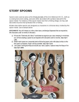 Ceramic Story Spoons Lesson Plan