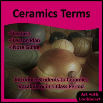 Ceramic Terms PowerPoint