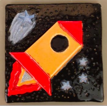 Ceramic Tile Designs Art Project