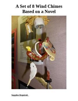 "Ceramic ""Wind Chimes""  Based On A Novel Study"