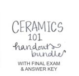 Ceramics 101 Handouts Bundle