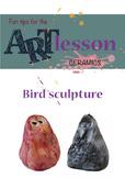 Ceramics - Bird sculpture