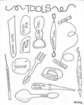 Ceramics/Clay Toolbox