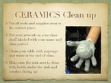 Ceramics Cleanup Poster