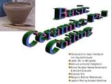 Ceramics: Coiling