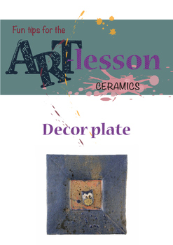 Ceramics - Decor plate