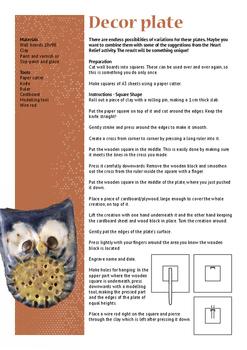 Ceramics - Decor plate