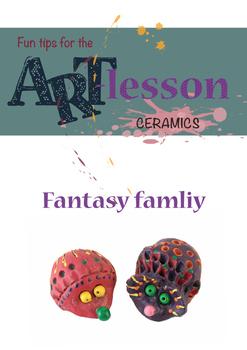 Ceramics - Fantasy family