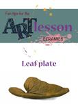 Ceramics - Leaf plate