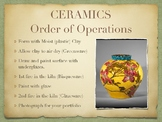 Ceramics Order of Operations Poster