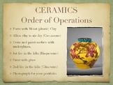 Ceramics Order of Operations Poster