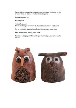 Ceramics - Owls