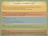 Ceramics SMART Goals