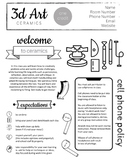 Ceramics Syllabus - Editable to fit your needs - now in Go
