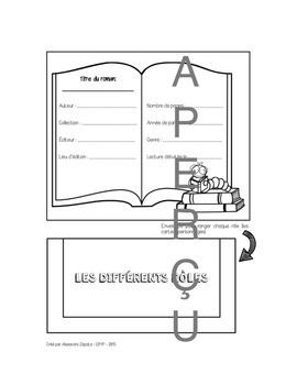 Cercle de lecture - Cahier interactif