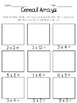 Cereal Arrays for Multiplication and Addition Practice