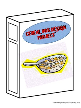 Cereal Box Advertising Design Project