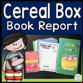 Cereal Box Book Report Template: Project Directions, Rubric & Example Idea Photo