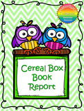 Cereal Box Book Report