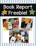 Cereal Box Book Report - Freebie