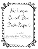 Cereal Box Book Report Tutorial