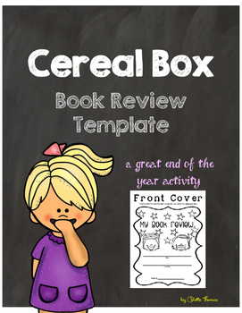 Cereal Box Book Review