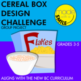 Cereal Box Design Challenge Group Project