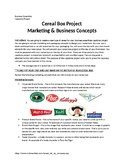 Cereal Box Marketing Project