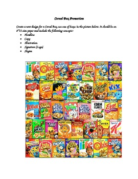 Cereal Box Promotion
