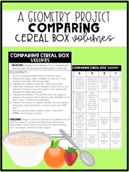 Cereal Box Volume Challenge