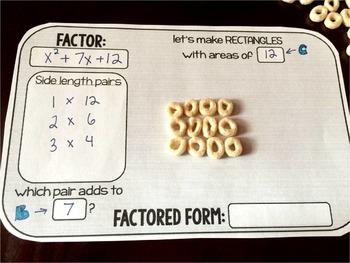 Cereal Factoring Mat