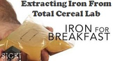 Cereal Science Experiment: Extracting Iron from Total Cereal