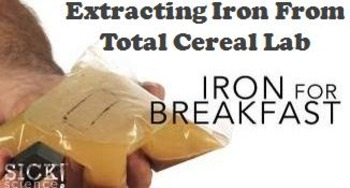Cereal Lab Experiment: Extracting Iron from Total Cereal