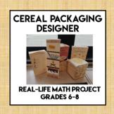 Cereal Packaging Designer Project