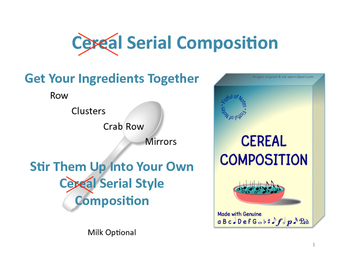 Cereal (Serial) Composition