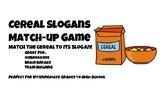 Cereal Slogans Game