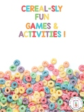 Cereal-Sly Fun Games & Activities: Distance Learning witho