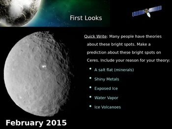 Ceres & the Asteroid Belt