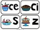 Spanish Phonics Center Words with C S Z - Centro de fonética Palabras con C S Z
